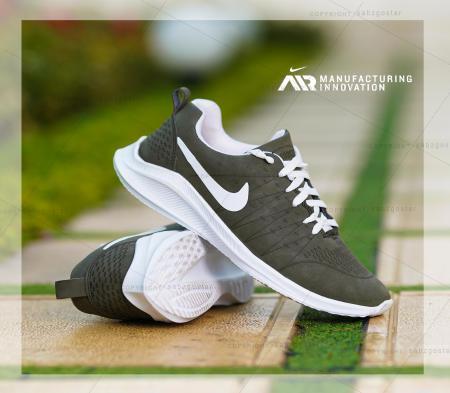 کفش مردانه Nike مدل pel (سبز یشمی)